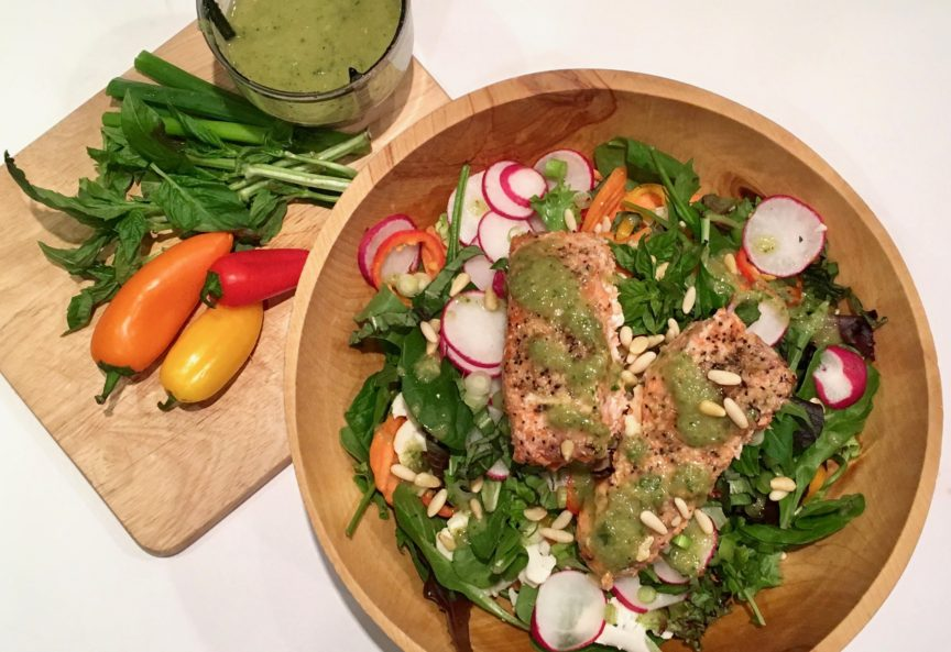Protected: GRILLED SALMON SALAD