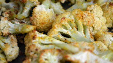 GRILLED CHEESY CAULIFLOWER