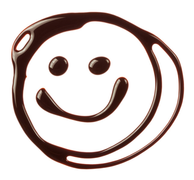 EAT CHOCOLATE AND SMILE!