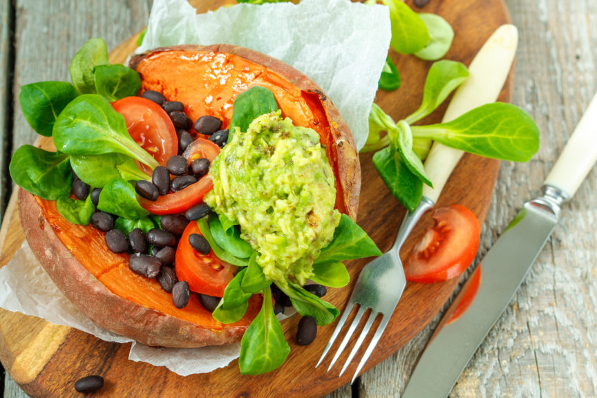 Protected: MEXICAN STUFFED SWEET POTATOES